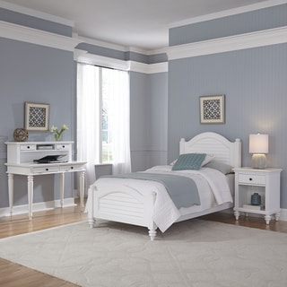 Home Styles Bermuda Two Twin Beds and Night Stand