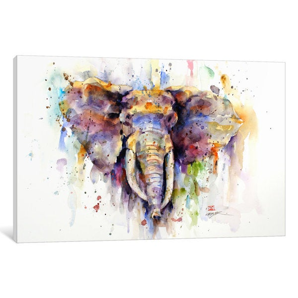 Shop Elephant Canvas Wall Art On Sale Free Shipping