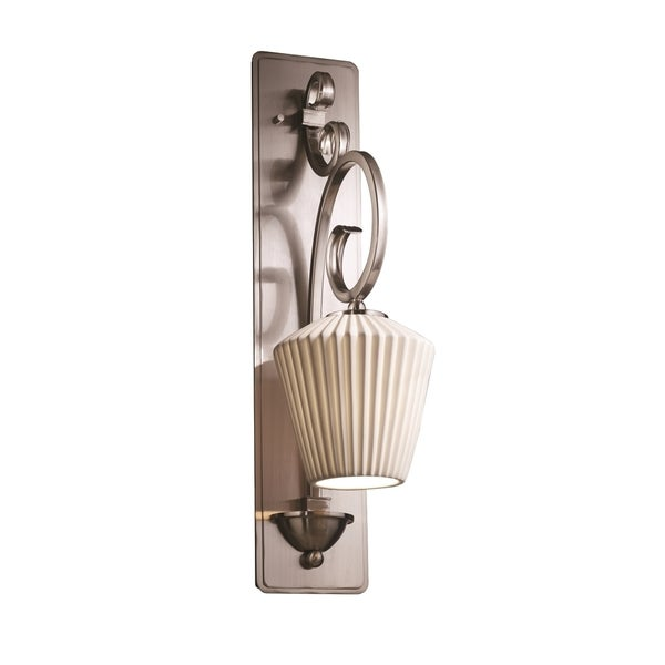 Wall Sconces Victoria Bc: Shop Justice Design Group Limoges Victoria 1-light Wall
