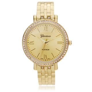 Geneva Platinum Women's Rhinestone Accent Hinged Cuff Watch|https://ak1.ostkcdn.com/images/products/10539288/P17620316.jpg?impolicy=medium