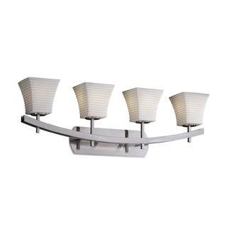 Justice Design Group Limoges Archway 4-light Bath Bar