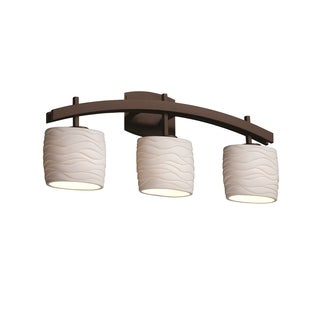 Justice Design Group Limoges Archway 3-light Bath Bar