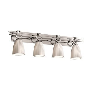 Justice Design Group Limoges Argyle 4-light Bath Bar