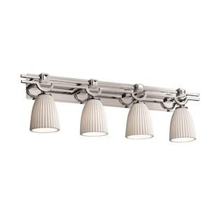 Justice Design Group Limoges Argyle 4-light Bath Bar