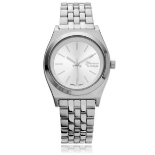 Geneva Platinum Women's Modern Panther Link Watch