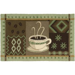 Nourison Everywhere Green Accent Rug (1'8 x 2'9)