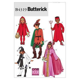 Children's/Girls' Classic Character Costumes-All Sizes in One Envelope