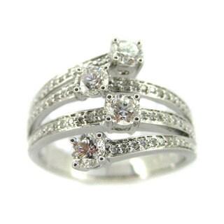 Kabella 18k White Gold 1ct TDW Diamond Ring