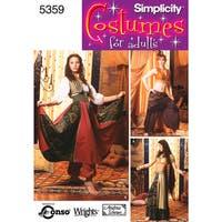 Simplicity Misses' Costumes-6,8,10,12