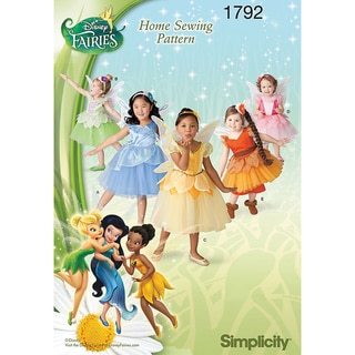 Toddlers' & Child's Disney Fairies Costume-4-5-6-7-8