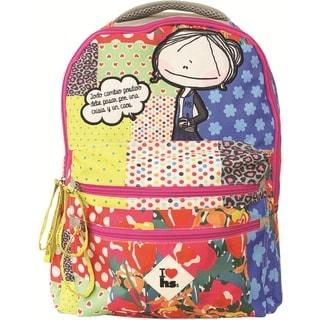Hablando Sola Patchwork Backpack