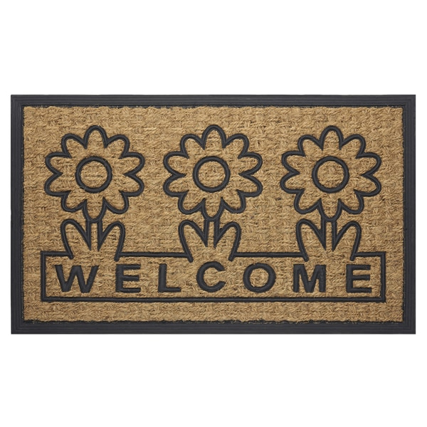 Achim Daisy Coco Welcome Mat (18 x 30). Opens flyout.