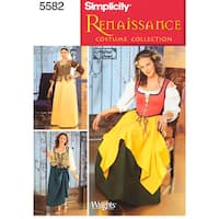 Simplicity Misses' Costumes-12,14,16,18,20