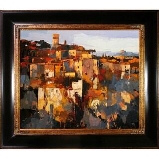 Alex Bertaina 'Toscane' Framed Fine Art Print