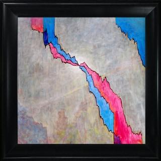 Clive Watts 'Crack' Framed Fine Art Print