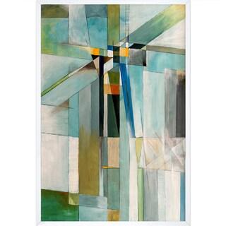Clive Watts 'Icy Cross' Framed Fine Art Print