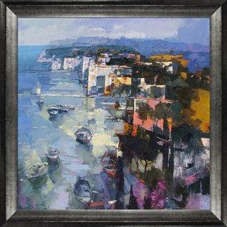 Alex Bertaina 'Sardegna nel Cuore' Framed Fine Art Print