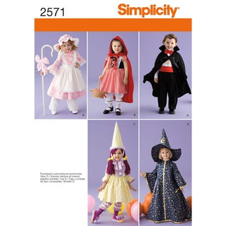 Simplicity Crafts Costumes-1/2 1 2 3 4