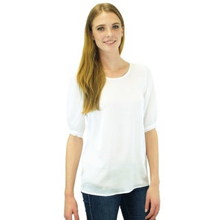 Relished Women's Contemporary Hathaway Ribbon Blouse