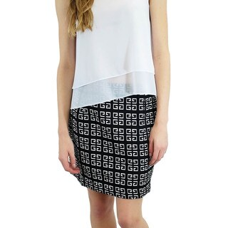 Relished Women's Contemporary Geo Shift Skirt (As Is Item)