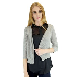 Relished Women's Contemporary Kandice Grey Cardigan