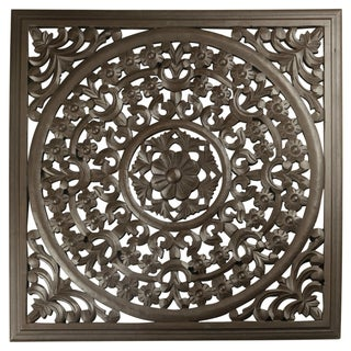 "12"" Brown Solaris Seven Wooden Wall Panel"