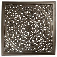 """12"""" Brown Solaris Seven Wooden Wall Panel"""