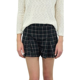 Relished Women's Plaid Prepster Shorts