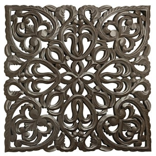 "30"" Brown Solaris Eight Wooden Wall Panel"