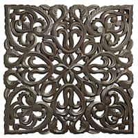 "12"" Brown Solaris Eight Wooden Wall Panel"