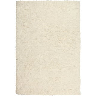 Hand-Tufted Layne Solid Polyester Rug (2' x 3')