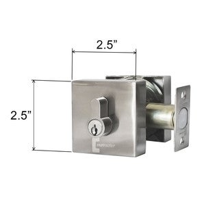 Guardian Deadbolt Door Double Cylinder Lock Set