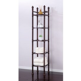 Best Living Monaco Oil Rubbed Bronze Tall Shelf Etagere