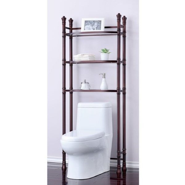 Best Living Monaco Oil Rubbed Bronze Bath Etagere Space Saver Shelf ...