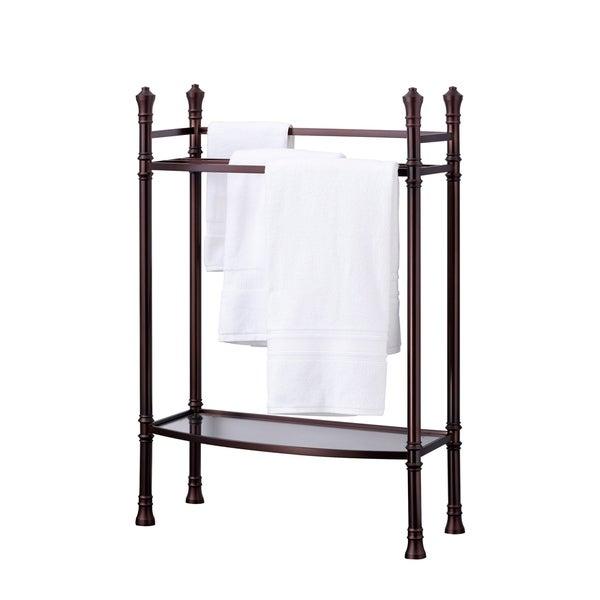 Best Living Monaco Oil Rubbed Bronze Towel Stand