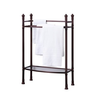 Best Living Monaco Oil Rubbed Bronze Towel Stand
