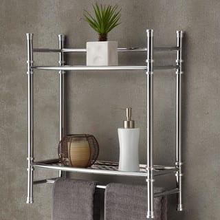 Best Living Bath Chrome Plated Wall Shelf with Towel Bar https://ak1.ostkcdn.com/images/products/10539981/P17620980.jpg?impolicy=medium