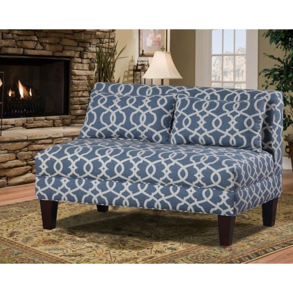Shop Briley Armless Loveseat Free Shipping Today Overstockcom