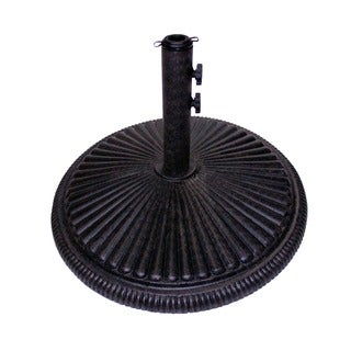 Fluted Iron 62-pound Umbrella Base