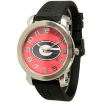 Olivia Pratt Women's Officially Licensed College Silicone College Sports Watch