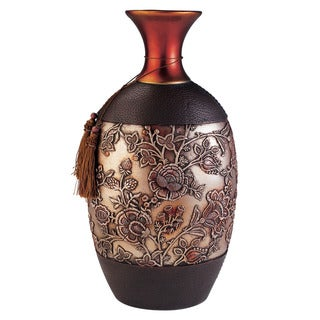Hoya Polyresin Vase Decor