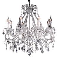 Nola Crystal Crystal Chandelier with LED Lights
