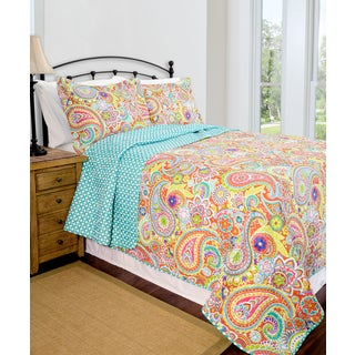 Slumber Shop Lauren Reversible 3-piece Quilt Set