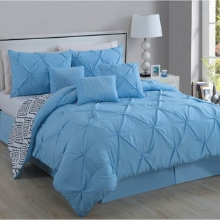 Avondale Manor Essex Pinch Pleat 7-piece Comforter Set