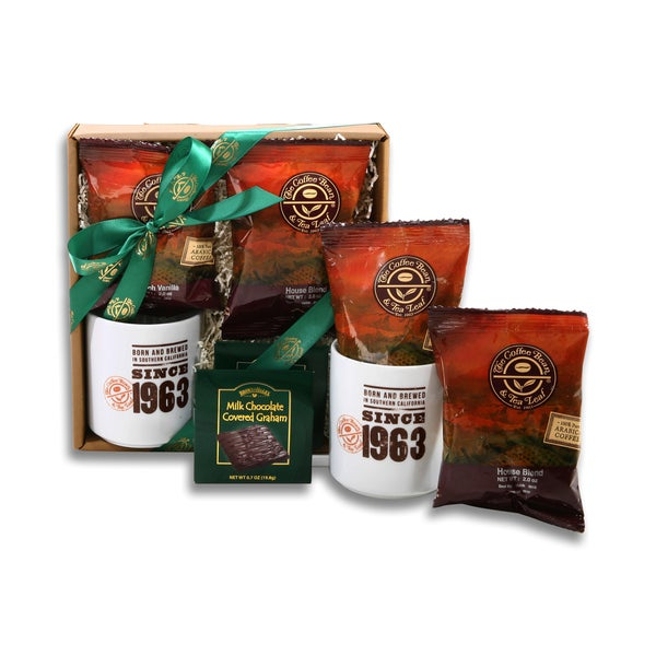 Alder Creek Coffee Bean and Tea Leaf Coffee Sampler Gift Box