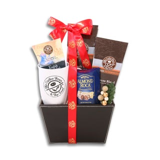 Alder Creek Coffee Bean and Tea Leaf Favorites Gift Basket
