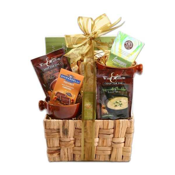 Alder Creek 'Soups On!!' Gift Basket. Opens flyout.
