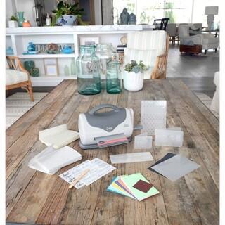 Sizzix Texture Boutique Embossing Machine Starter Kit Bundle