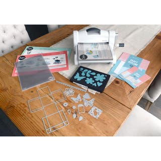 Sizzix Big Shot Plus Die Cutting Machine Starter Kit Bundle|https://ak1.ostkcdn.com/images/products/10540227/P17621189.jpg?impolicy=medium
