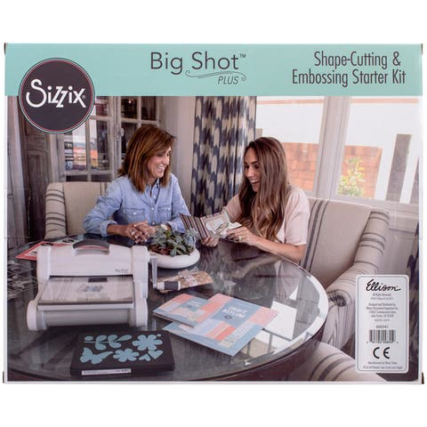 Sizzix Big Shot Plus Die Cutting Machine Starter Kit Bundle